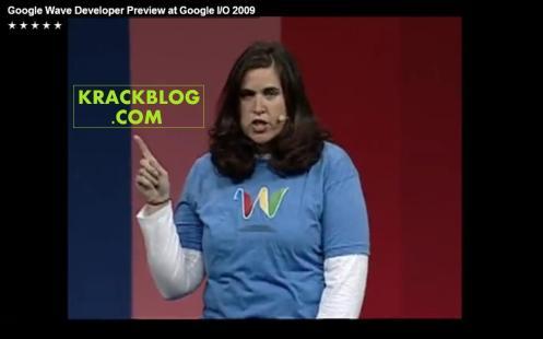 Google wave girl KRACKBLOG